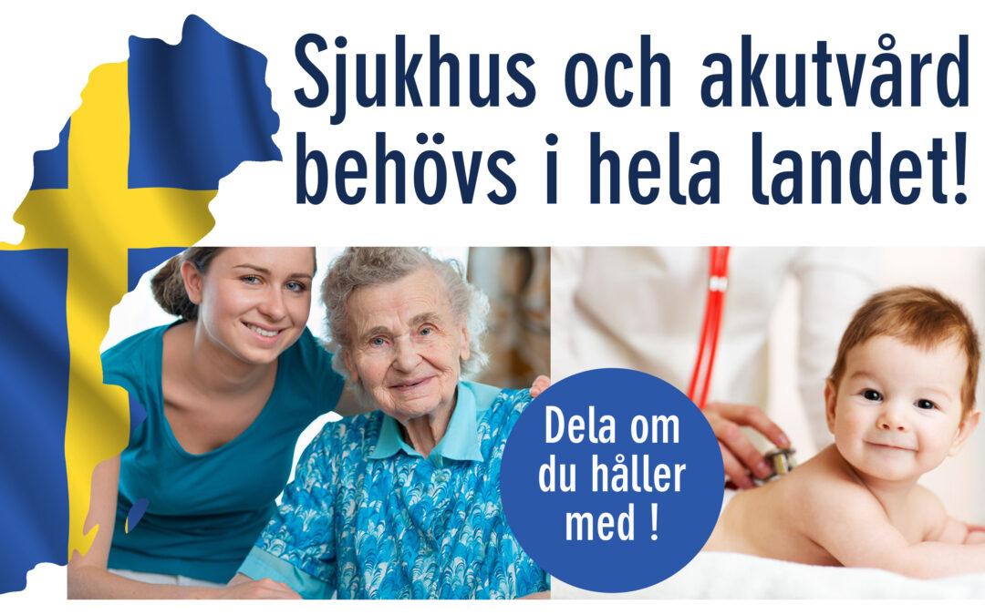 Öppet brev till Sveriges partiledare och regionpolitiker
